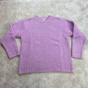 J. Crew Crewneck 100% Wool Sweater